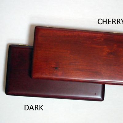 Bassoon reed case, wood, holds 9 (peg-style)